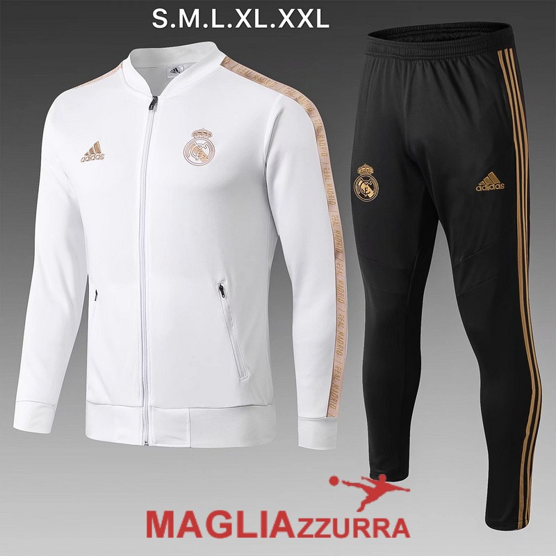bianca real madrid giacca 2019-2020