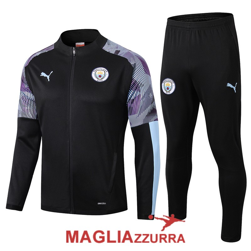 nera manchester city giacca 2019-2020