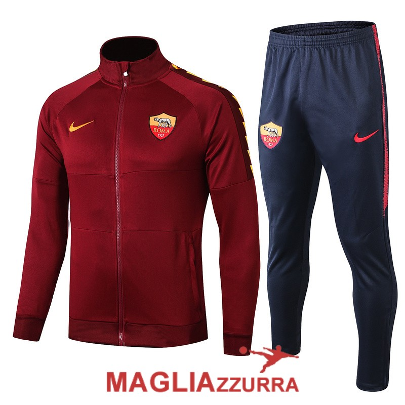 rossa as roma giacca 2019-2020