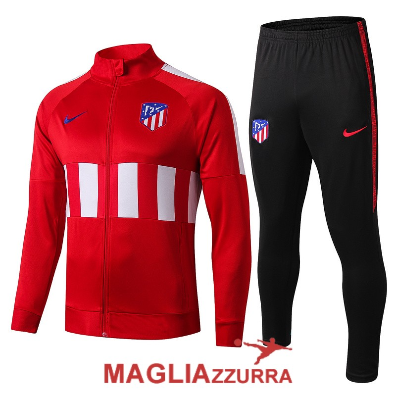 rossa bianca atletico madrid giacca 2019-2020