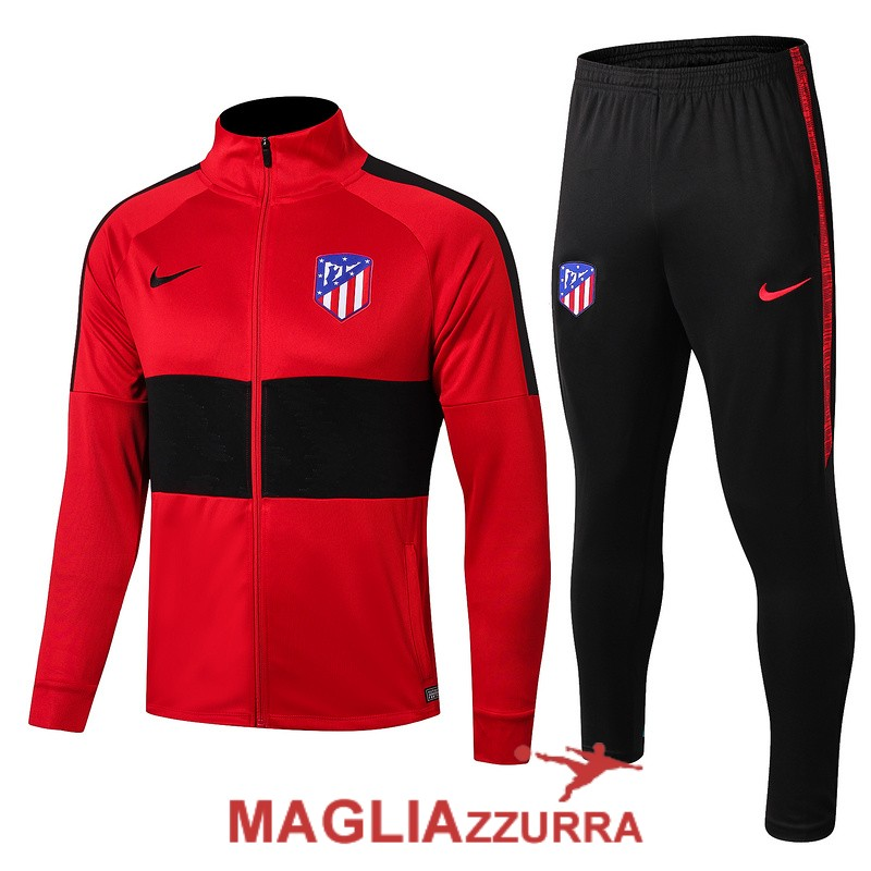 rossa nera atletico madrid giacca 2019-2020